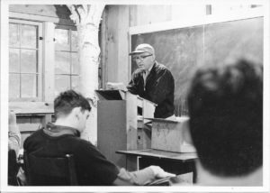 C.W. Miller's father teaching at Purdue University