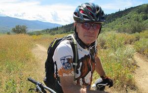 man in biking attire