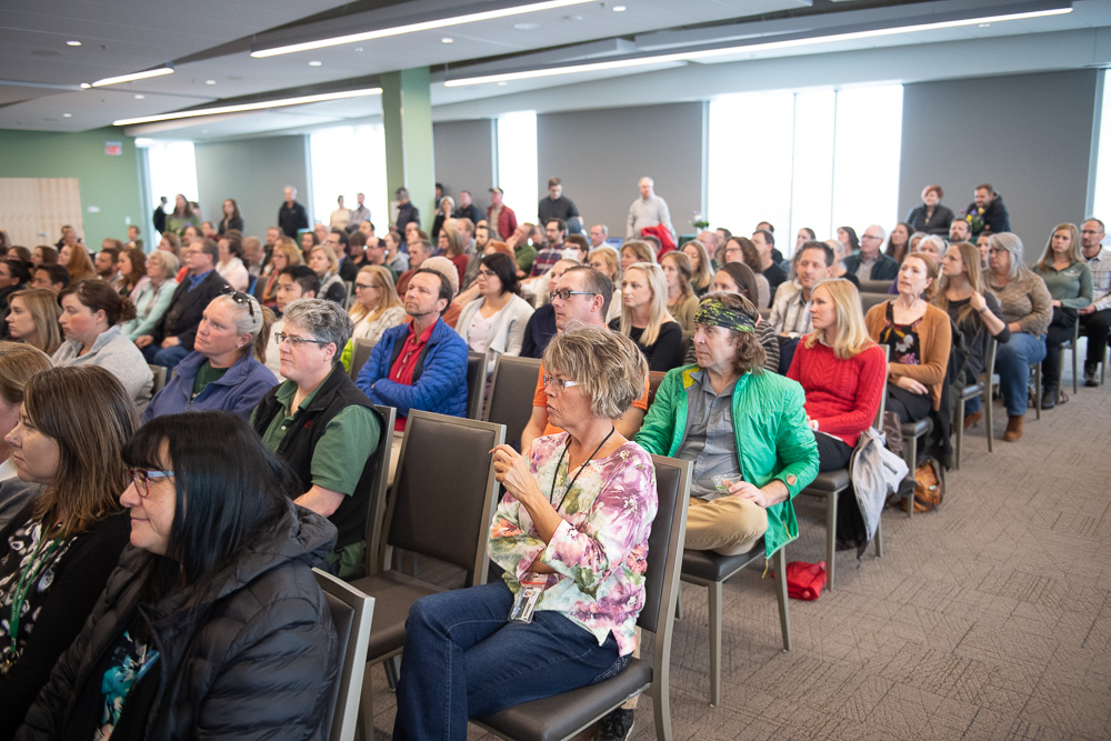 Colorado State University's College of Veterinary Medicine and Biomedical Sciences celebrates its Living Our Values Award winners at the 2019 Spring Forum. April 30, 2019