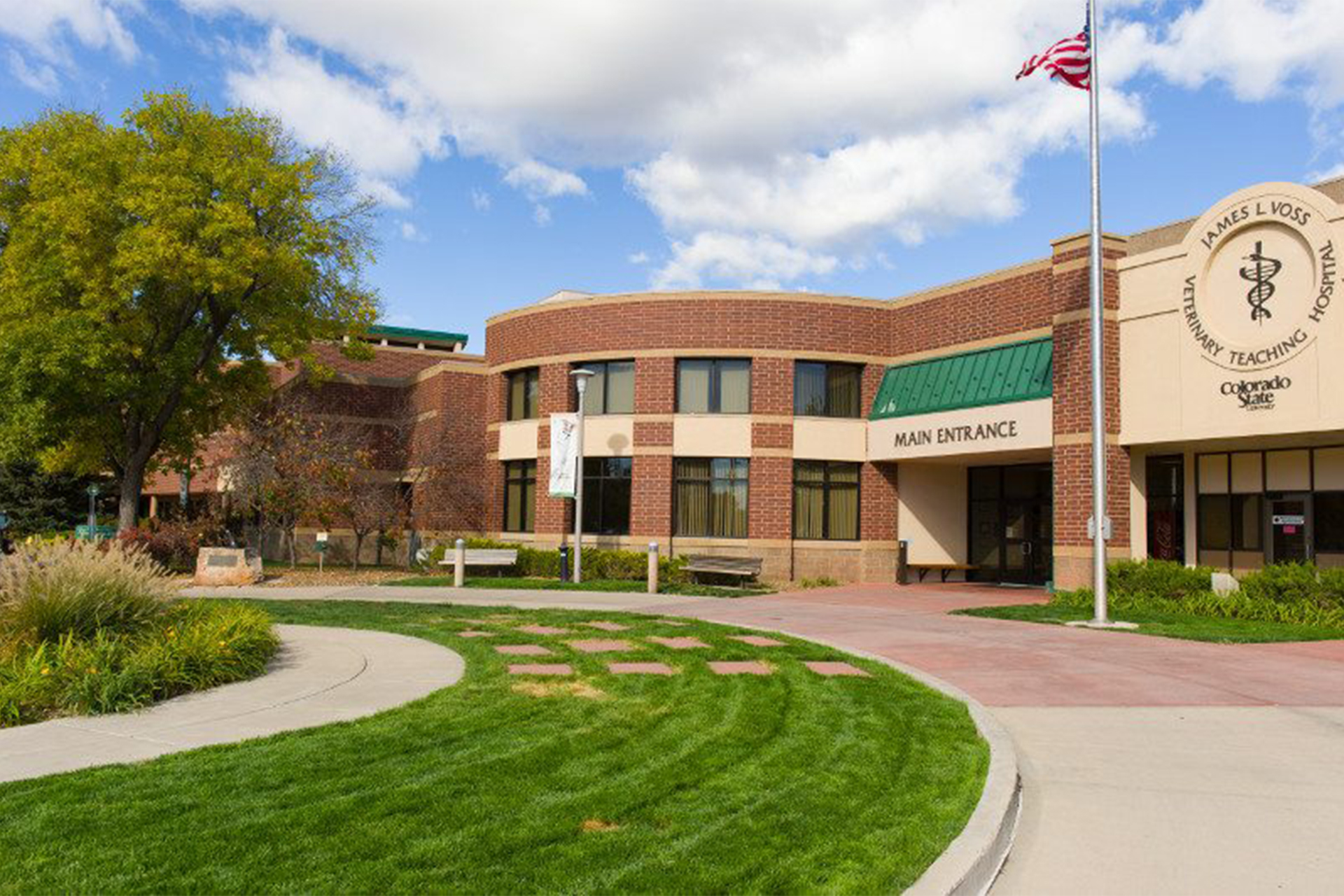 the James L. Voss Veterinary Teaching Hospital at CSU