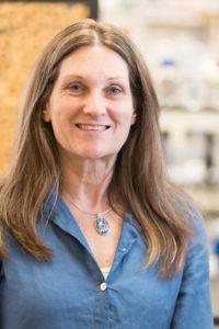 Sue VandeWoude, smiling