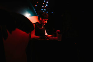 DJ Anna Claire at the Whisk(e)y in Fort Collins