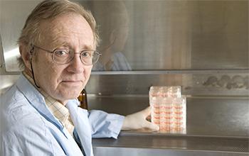 Richard Bowen in his lab