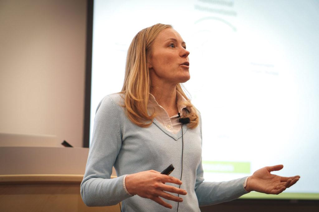 Kelly Santangelo speaking