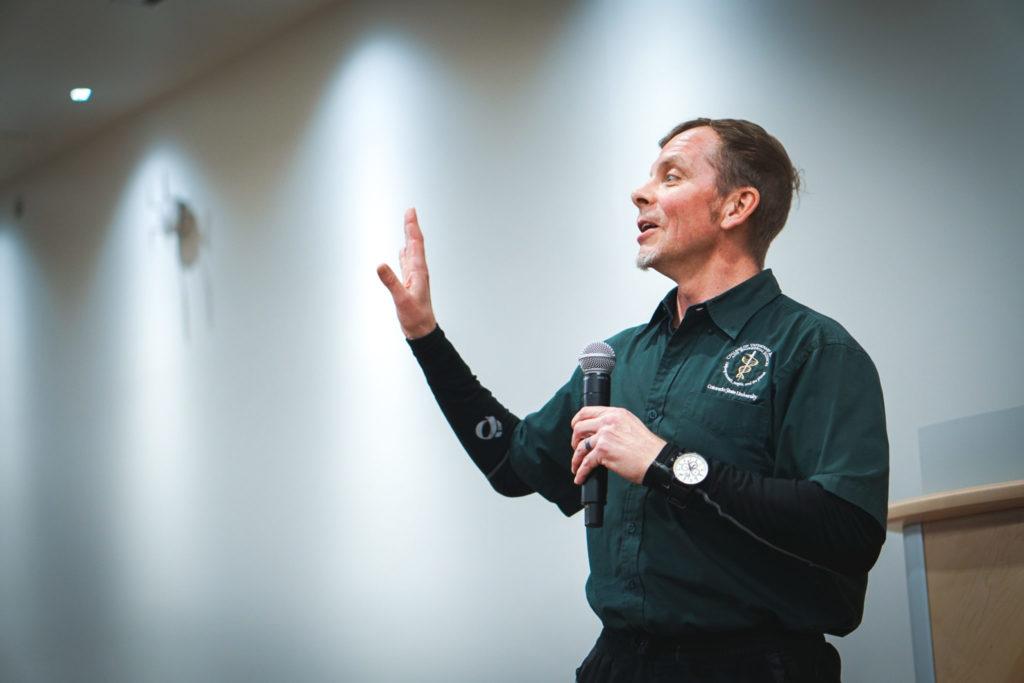 Mark Zabel speaking