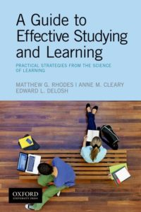 Guide To Effective Studying And Learning