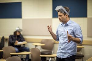 Josh Schaeffer teaching
